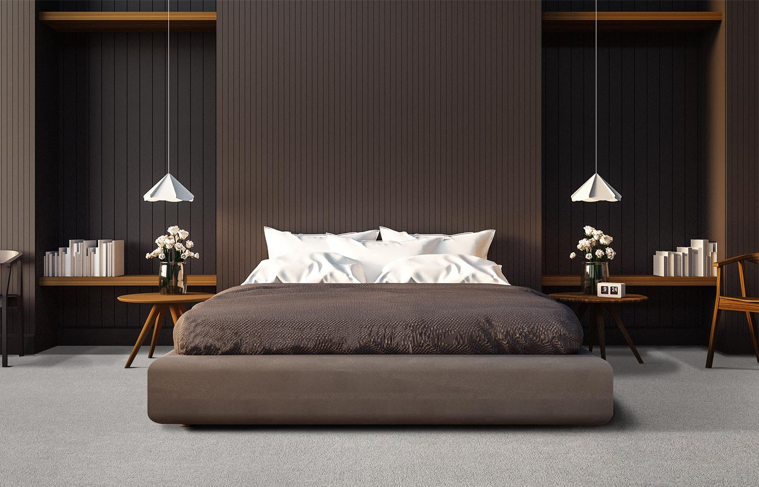 Softology - S301 - Downy contemporary bedroom
