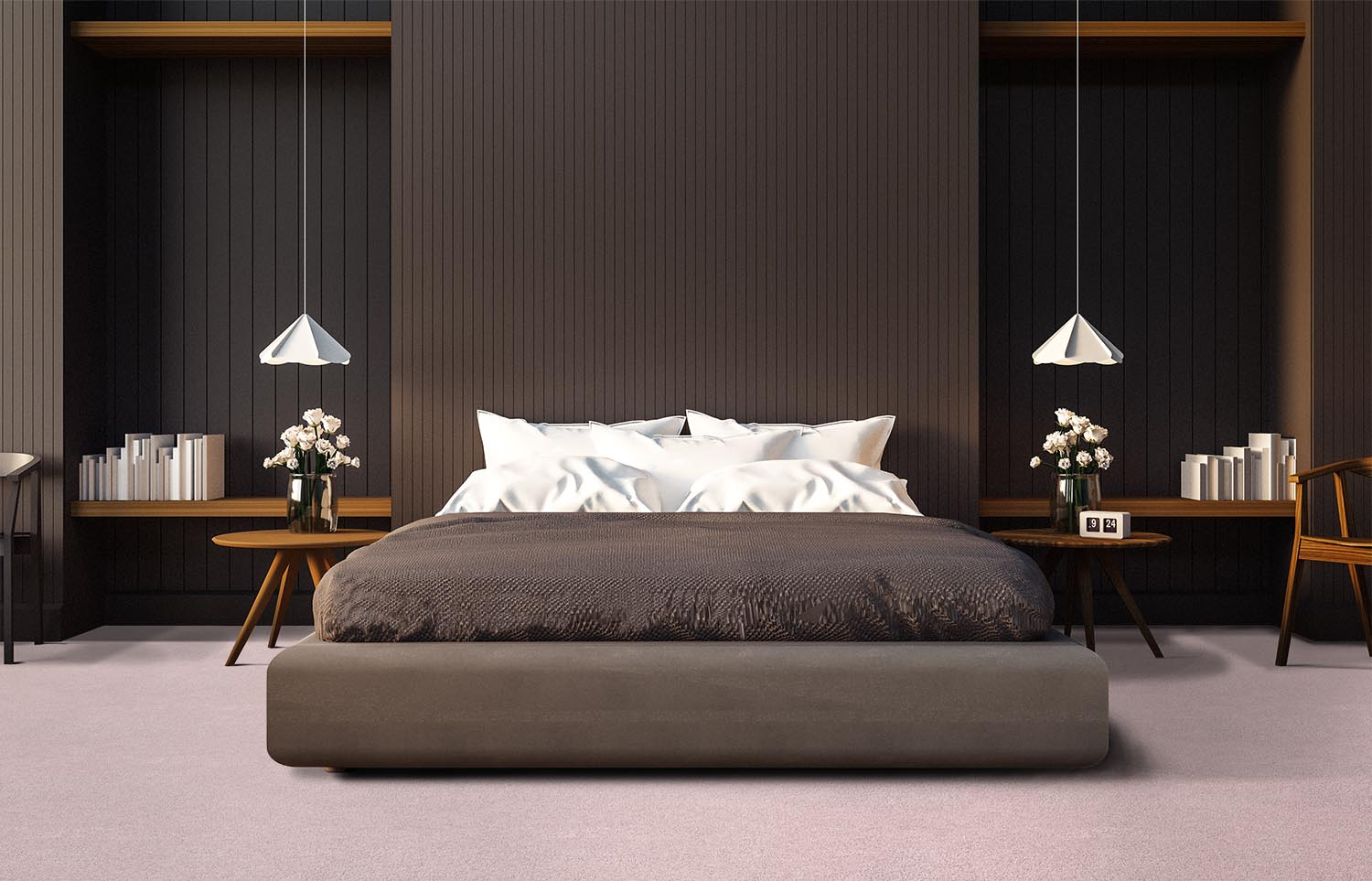 Softology - S301 - Dahlia contemporary bedroom