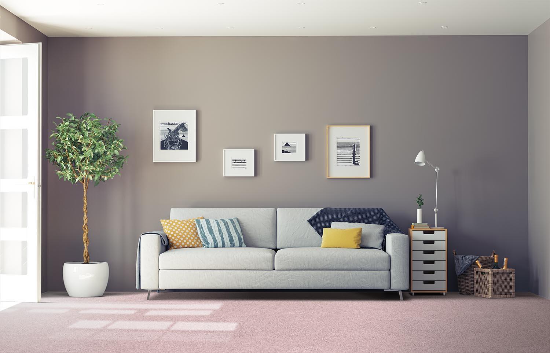 Softology - S201 - Dahlia classic living room