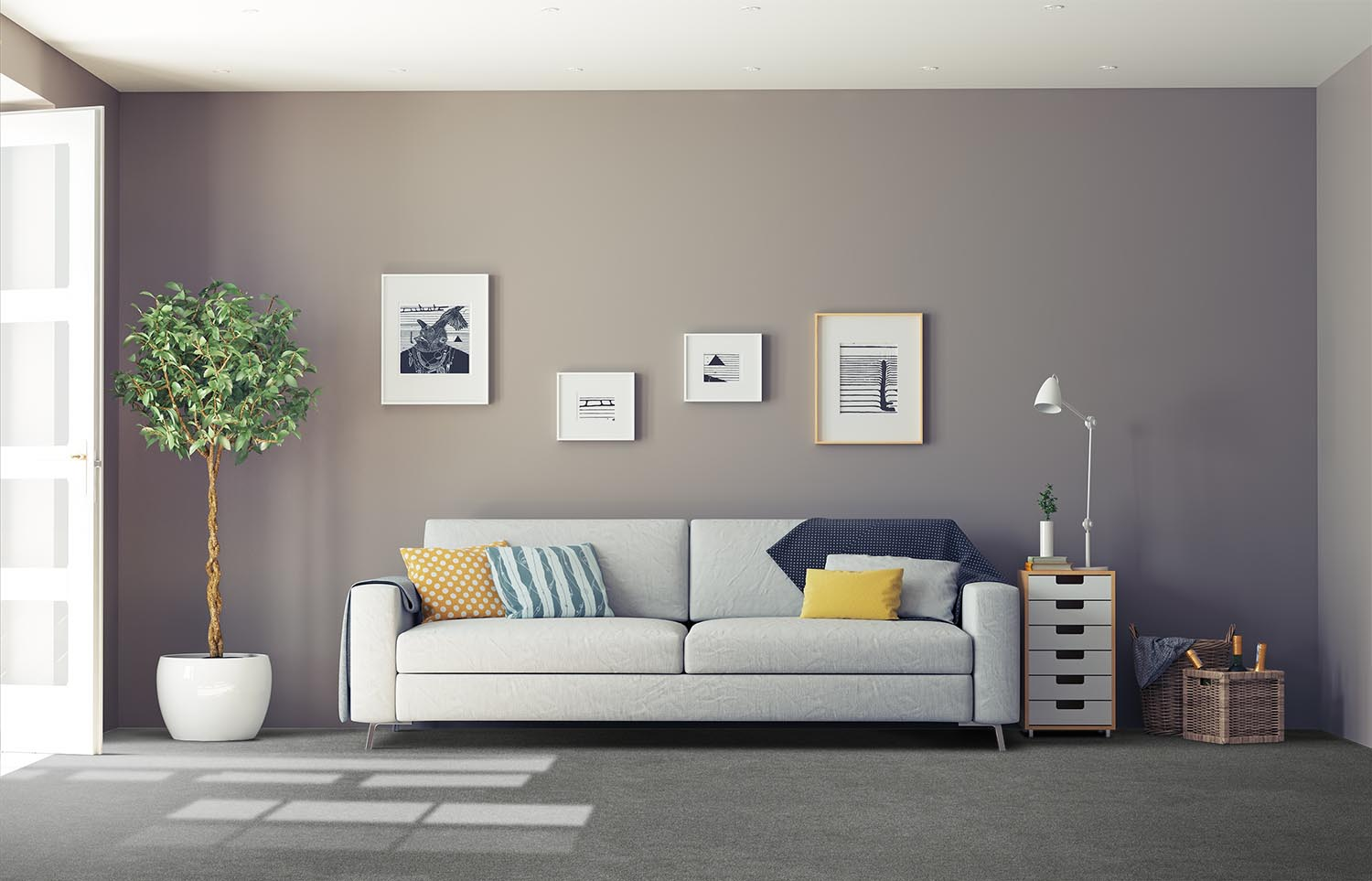 Softology - S201 - Brunia classic living room