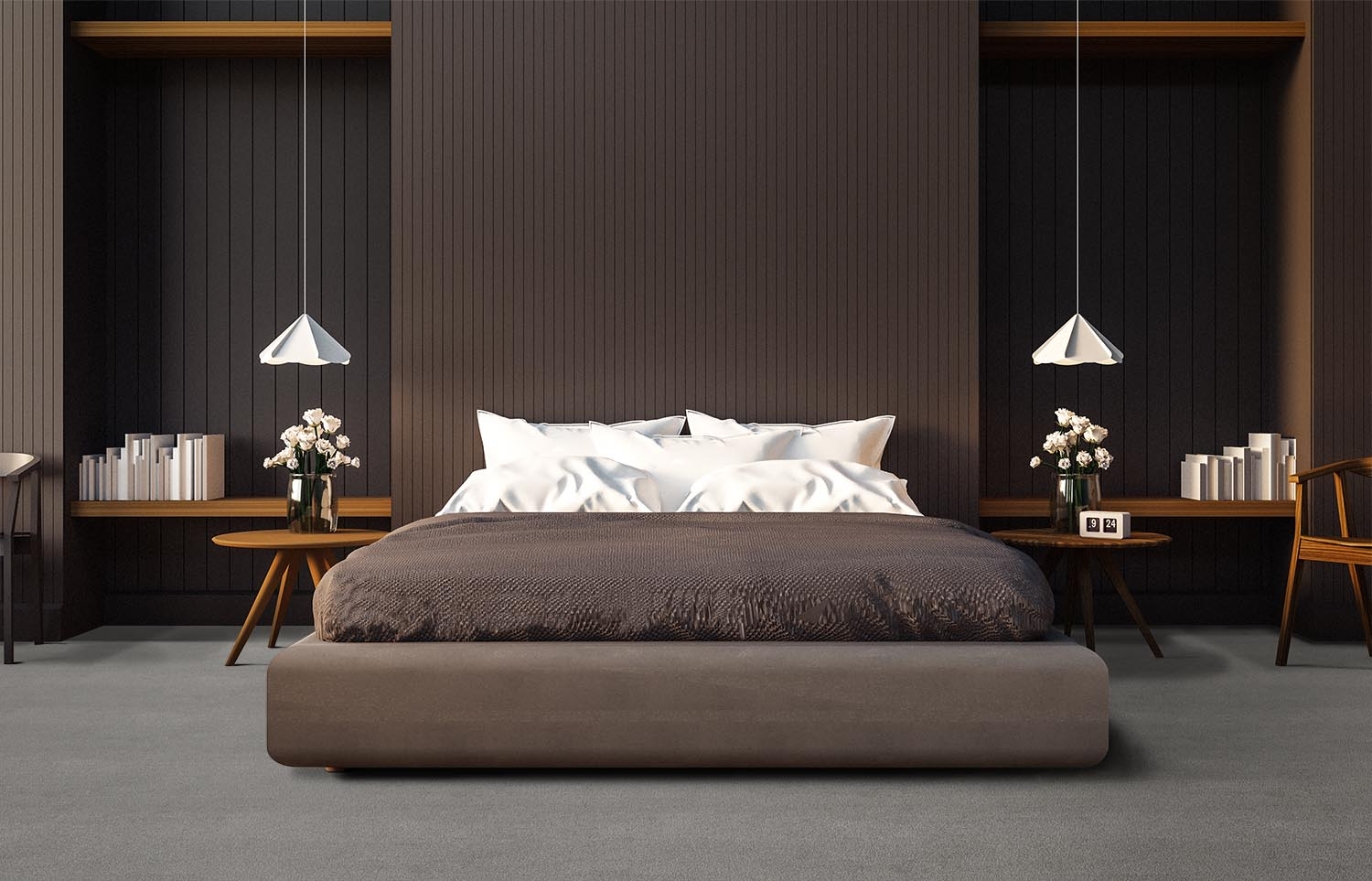 Softology - S301 - Ash contemporary bedroom