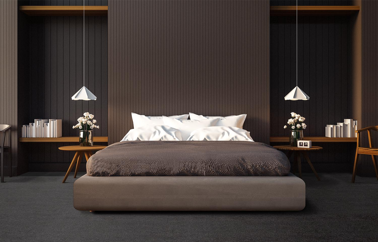 Softology - S201 - Abyss contemporary bedroom