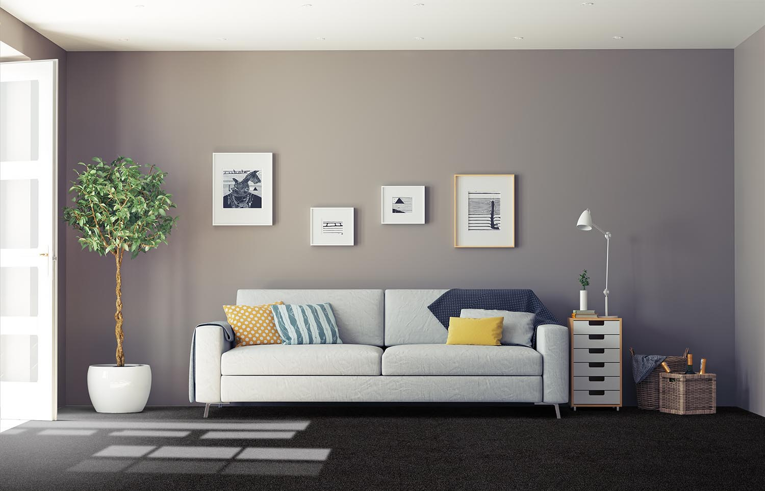 Softology - S201 - Abyss classic living room
