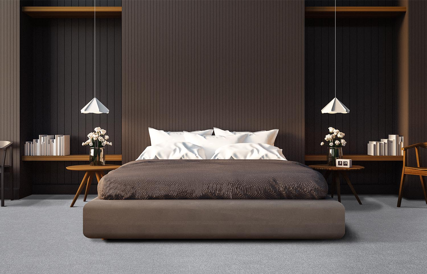 Contemporary bedroom Westminster - Tingle