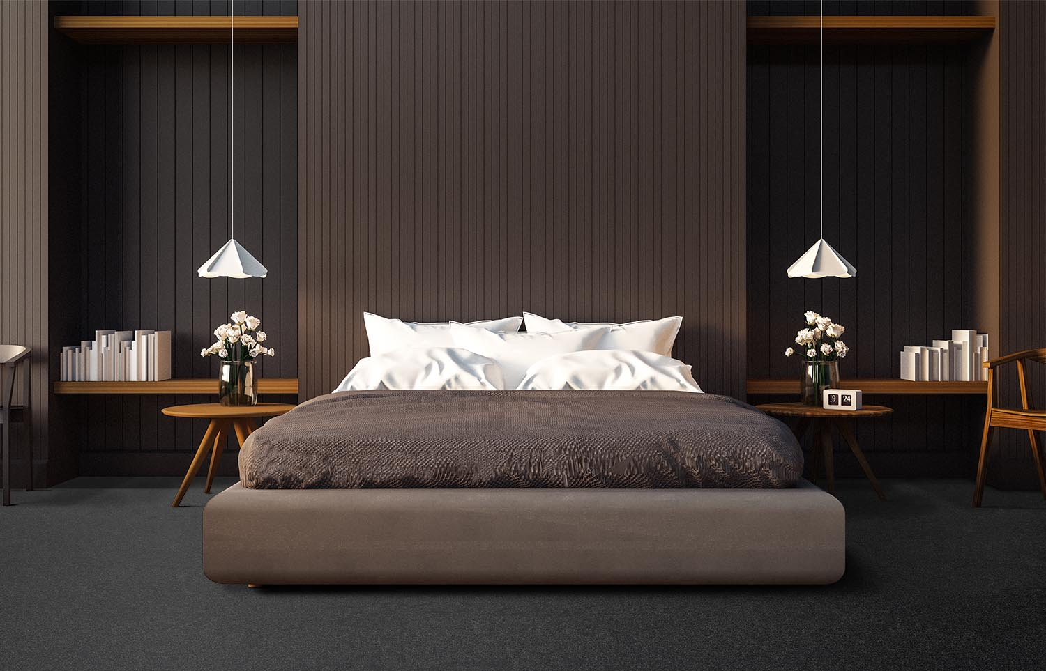 Contemporary bedroom Westminster - Tact