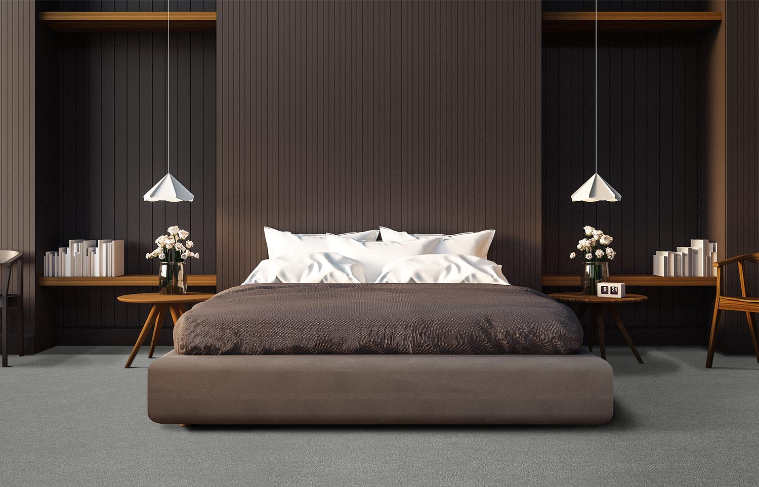 Contemporary bedroom Westminster - Modal
