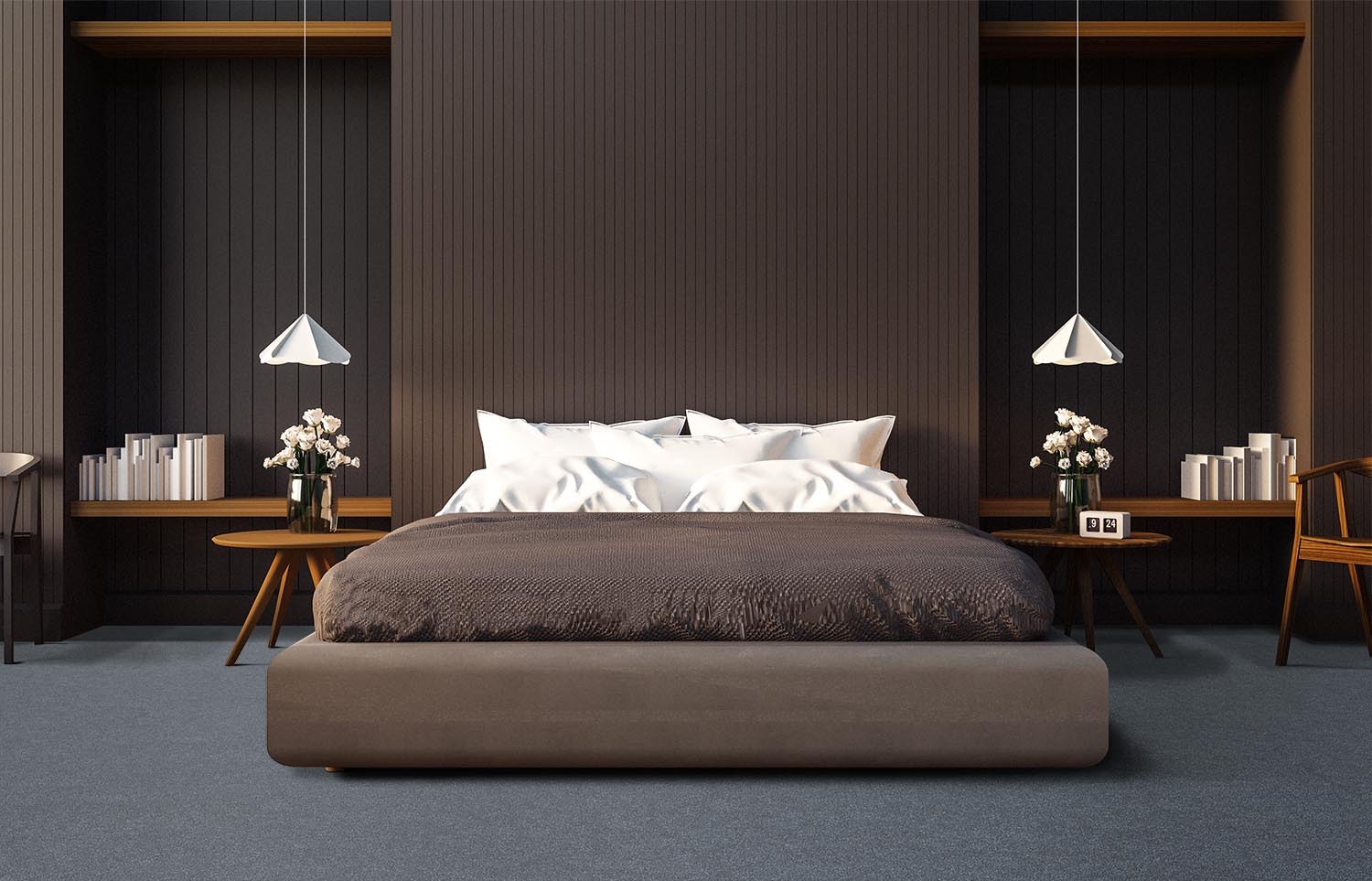 Contemporary bedroom Westminster - Kinect