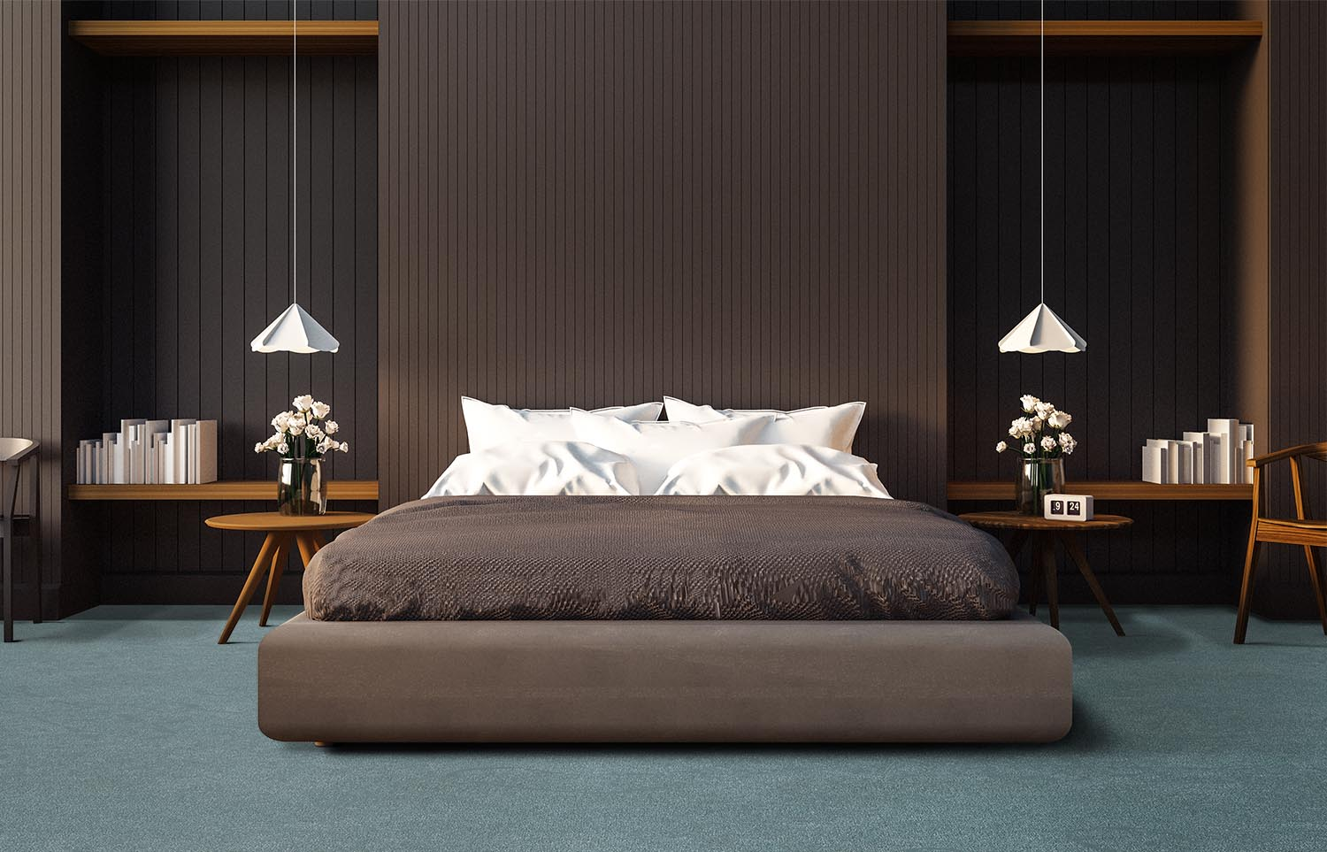 Contemporary bedroom Westminster - Glint