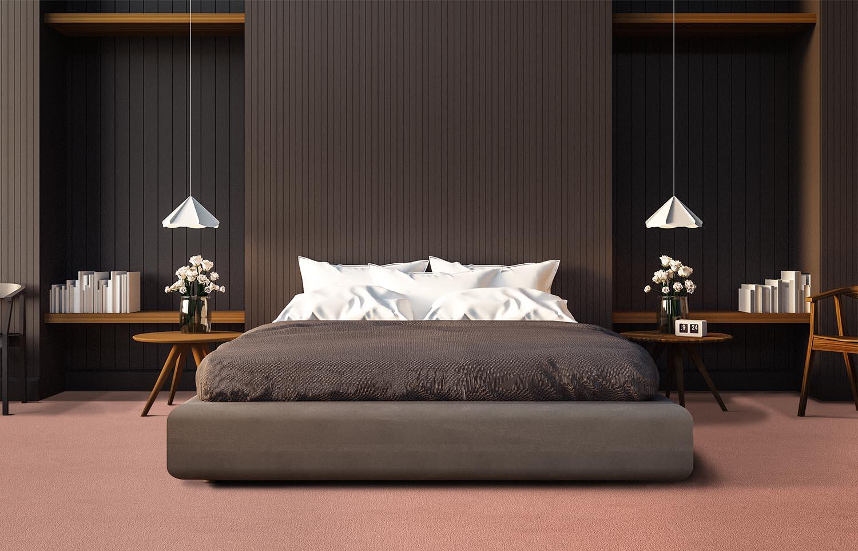 Contemporary bedroom Westminster - Flutter