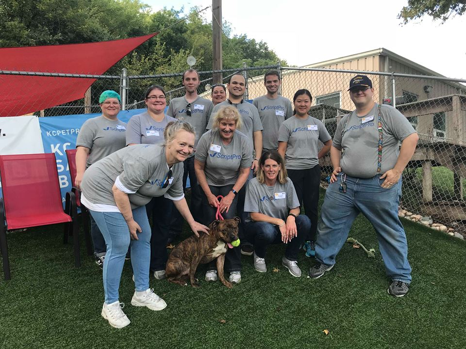 #TeamScriptPro Lends a Paw to Help Local Animals