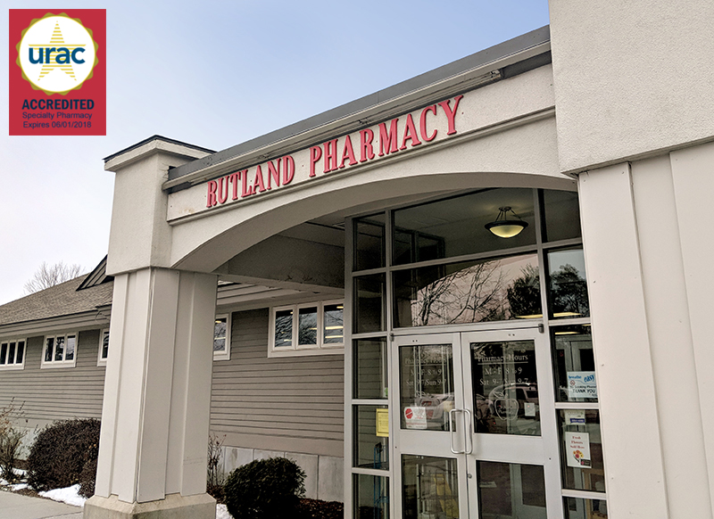 Specialty Accredited Rutland Pharmacy