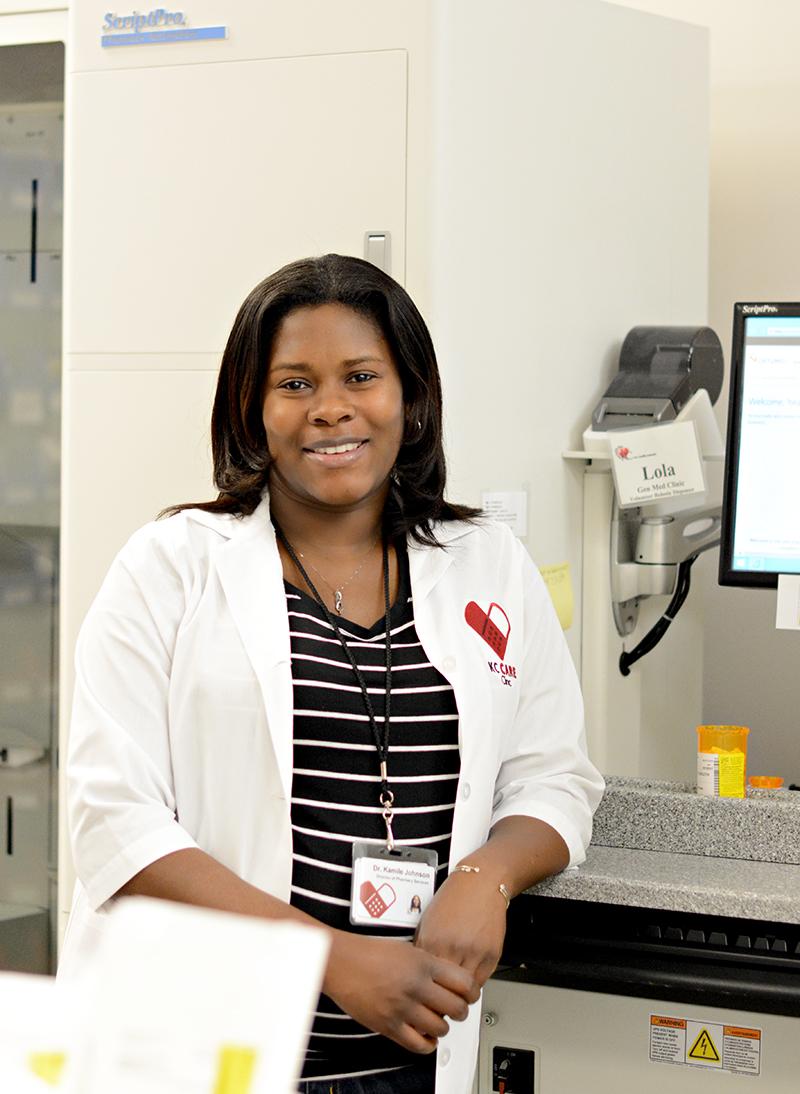 Dr. Kamile Johnson, KC CARE