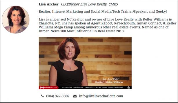 Lisa Archer Bio 614x354