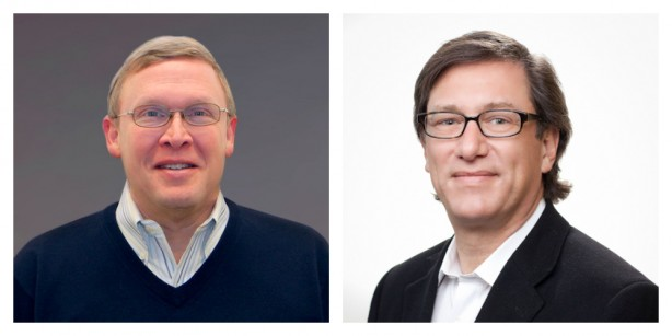 Warren Utt (left), VP of Sales, and David Rubinstein (right), SVP of Strategic Partnerships.