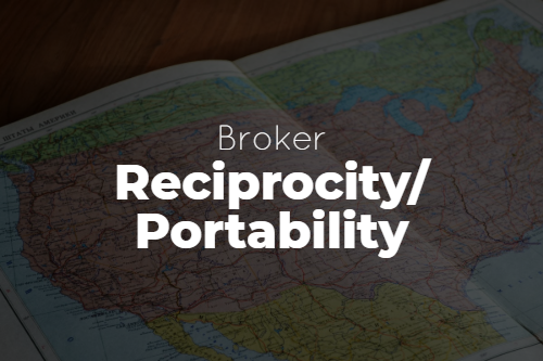 Reciprocity and Portability for Brokers