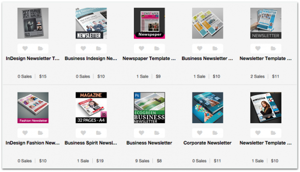 GraphicRiver newsletter templates