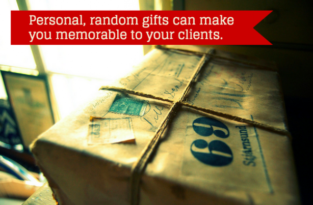 Real estate clients gifts