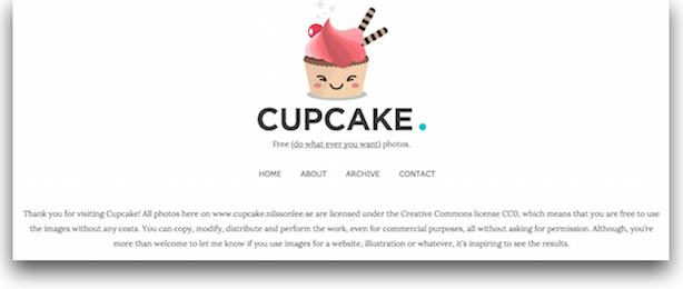 royalty-free stock photos Cupcake