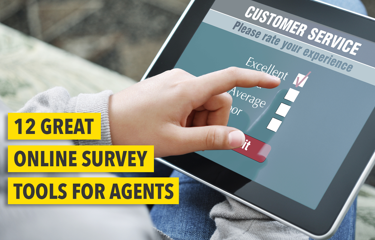 12 Great Online Survey Tools For Real Estate Agents