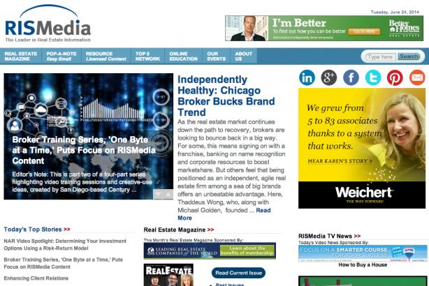 RISMedia real estate blog