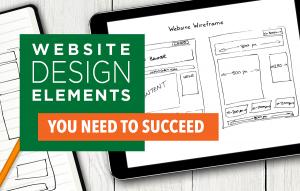 Real estate website design elements