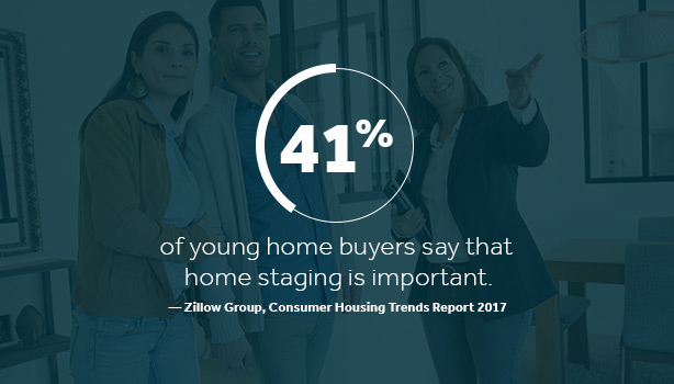 millennials home staging - Marketing to Millennial Home Buyers