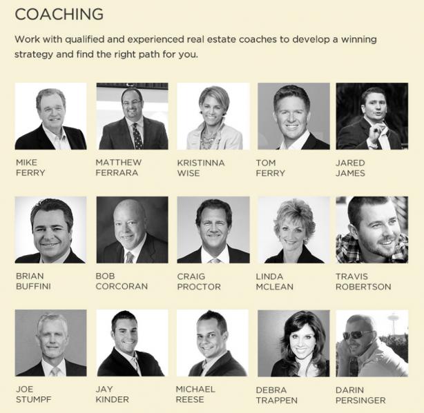 Real estate coaches
