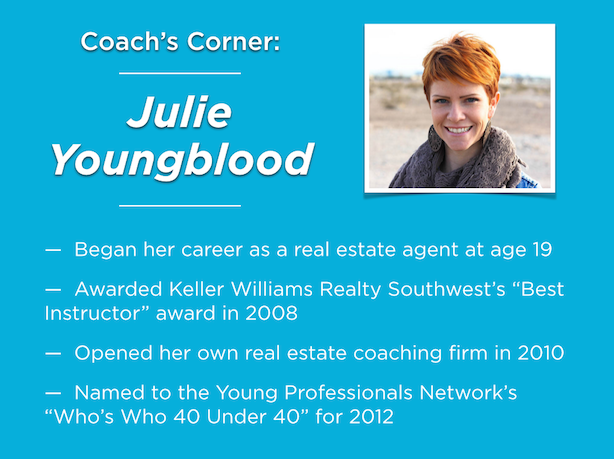 Real estate coaching Julie Youngblood