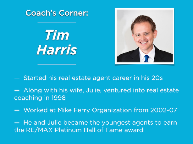 Real estate coaching Tim Harris