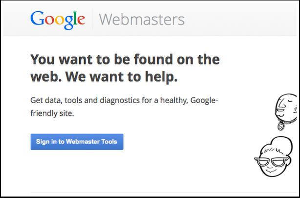 Webmaster Sign In for Sitemap