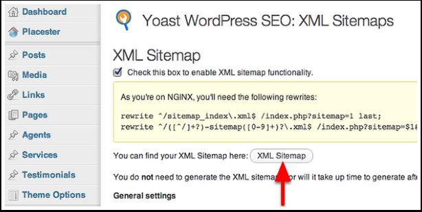 Enable XML Sitemap