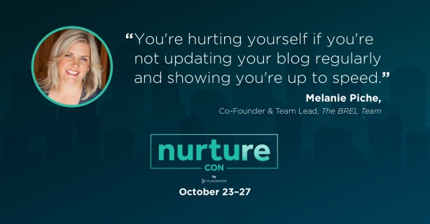 Melania Piche quote - nurture con recap