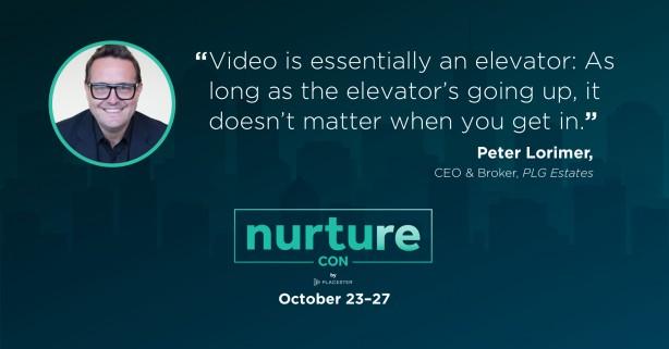 Peter Lorimer quote - Nurture Con Recap