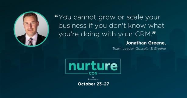 Jonathan Greene quote - Nurture Con Recap