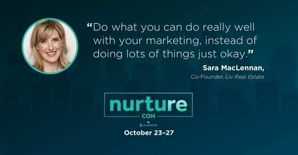 Sara MacLennan quote - Nurture Con Recap