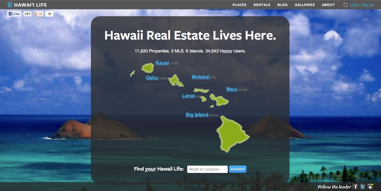 Hawailife-Website
