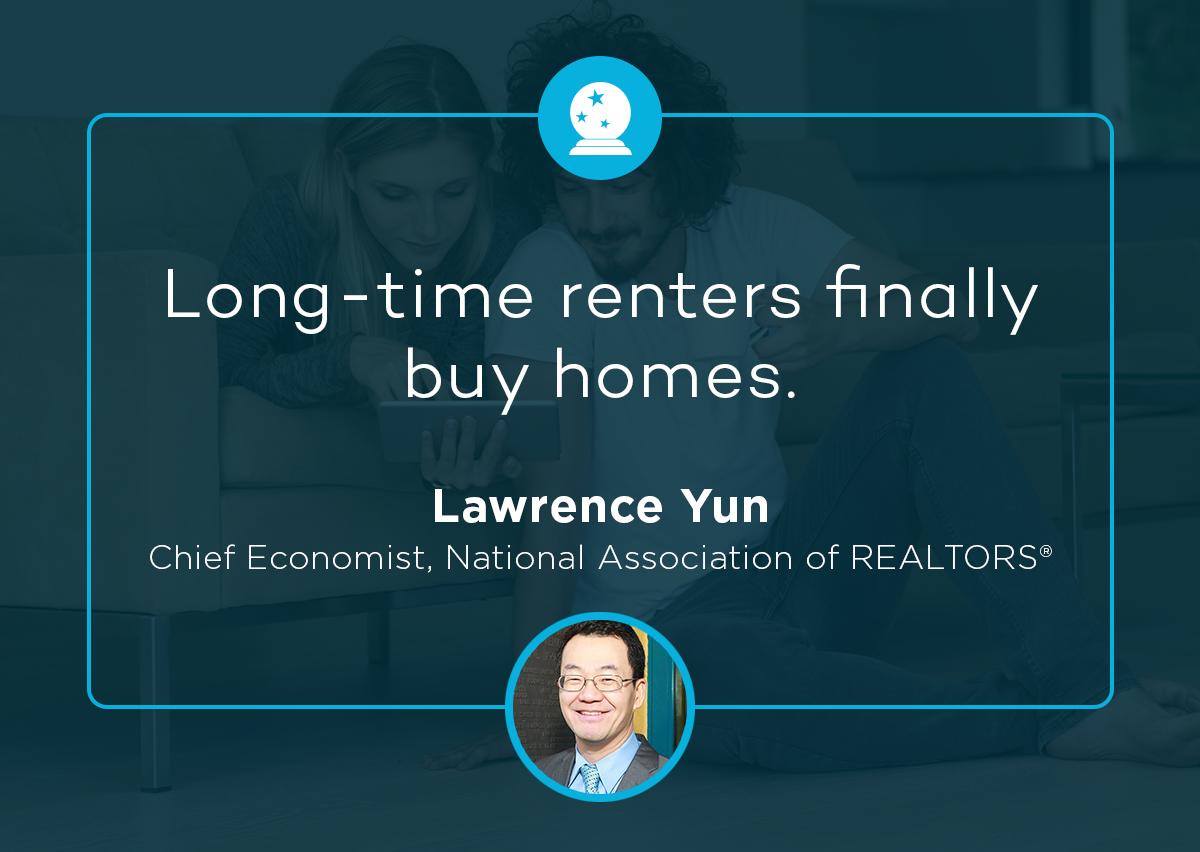 Lawrence Yun 2018 real estate prediction
