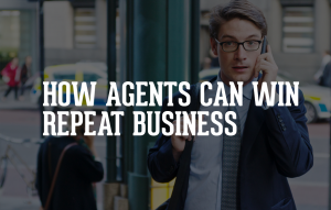 Real estate agents win repeat business