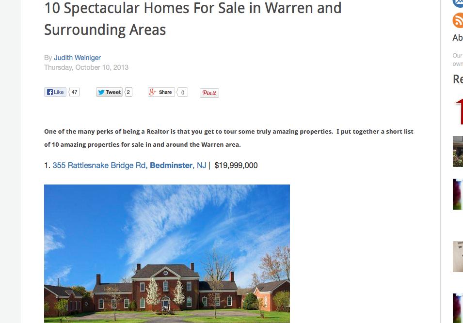 Weiniger Homes blog post
