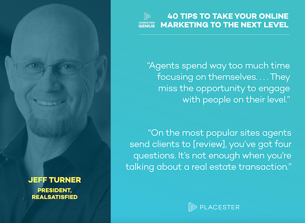 Placester Marketing Genius Podcast ebook Jeff Turner