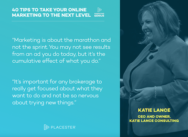 Placester Marketing Genius Podcast ebook Katie Lance