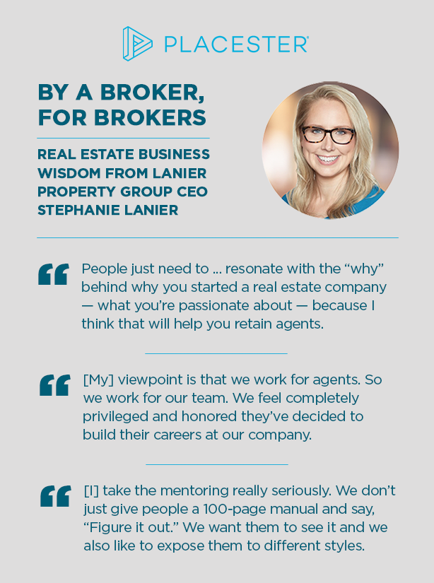 Placester real estate brokers Insights Lanier Property Group Stephanie Lanier