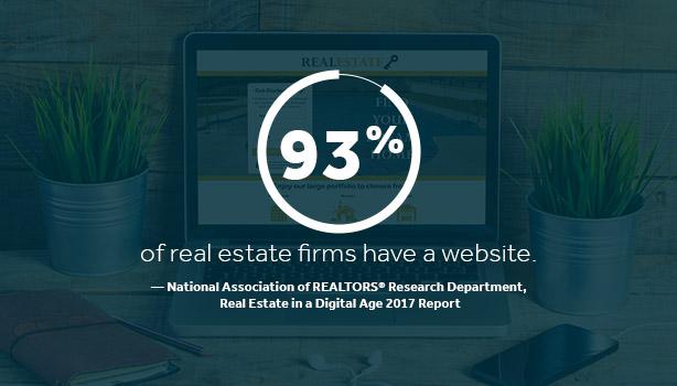 real estate firms websites - not marketing online