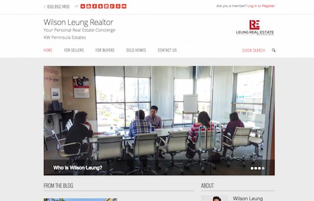 Placester real estate website Wilson Leung