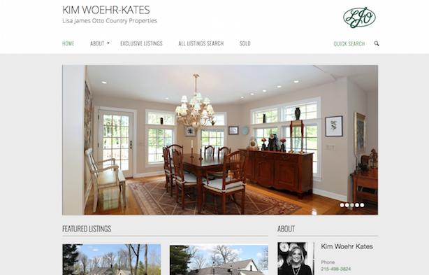 Placester real estate website Kim Woehr-Kates