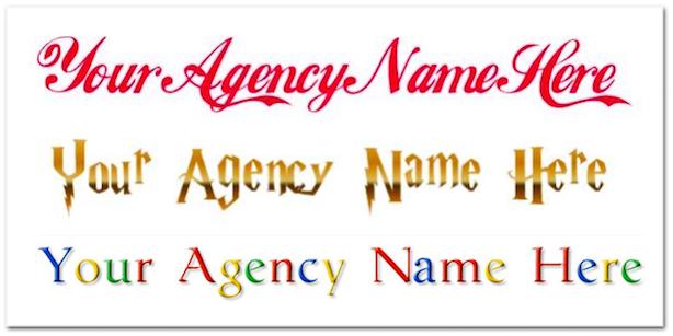 unique real estate marketing famous logos
