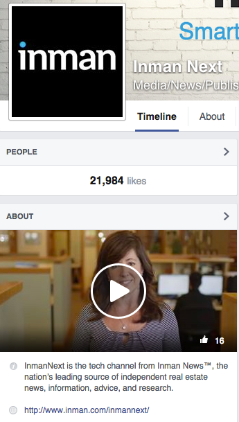 Facebook About Section Video
