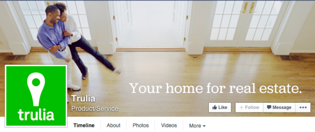 Facebook Cover Image - Trulia