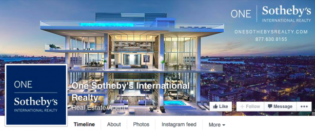 Facebook Cover Image - One Sothebys