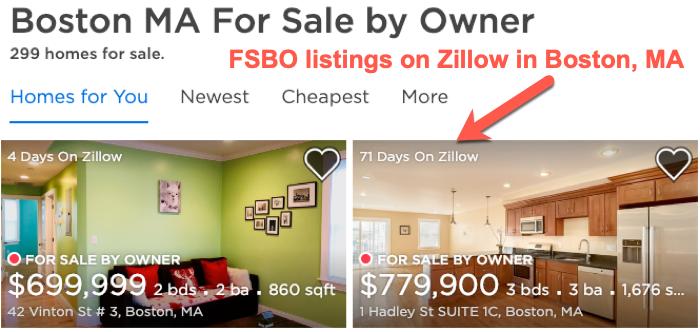 FSBO listing